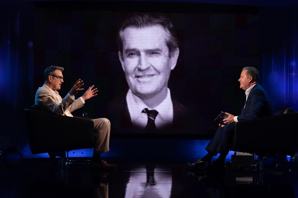 Rupert Everett's grilled by Piers Morgan for Life Stories. (ITV)