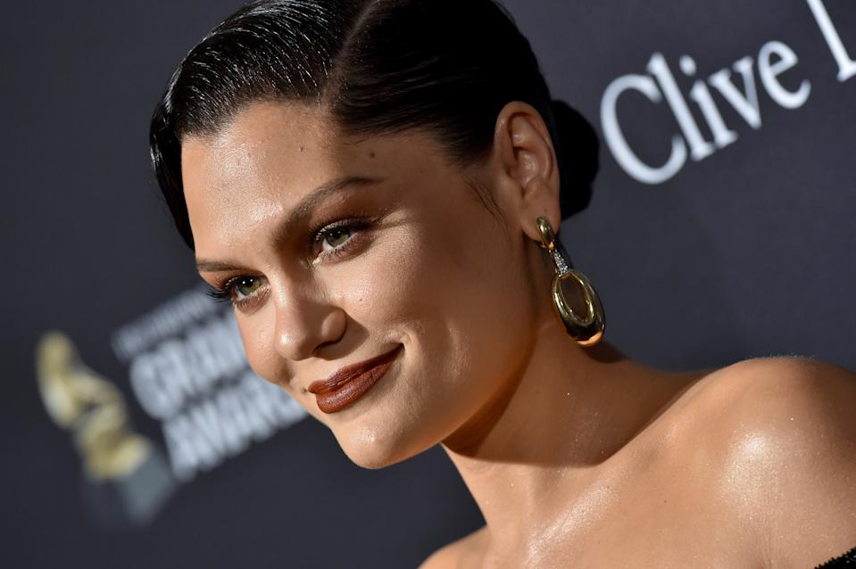 "BEVERLY HILLS, CALIFORNIA - JANUARY 25: Jessie J attends the Pre-GRAMMY Gala and GRAMMY Salute to Industry Icons Honoring Sean ""Diddy"" Combs at The Beverly Hilton Hotel on January 25, 2020 in Beverly Hills, California. (Photo by Axelle/Bauer-Griffin/FilmMagic)"