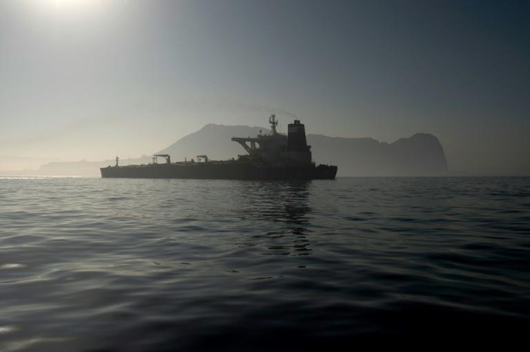 Washington issued strong protests last month when authorities in the British overseas territory of Gibraltar released an Iranian supertanker they had detained for six weeks on suspicion of sanctions-busting (AFP Photo/JORGE GUERRERO)