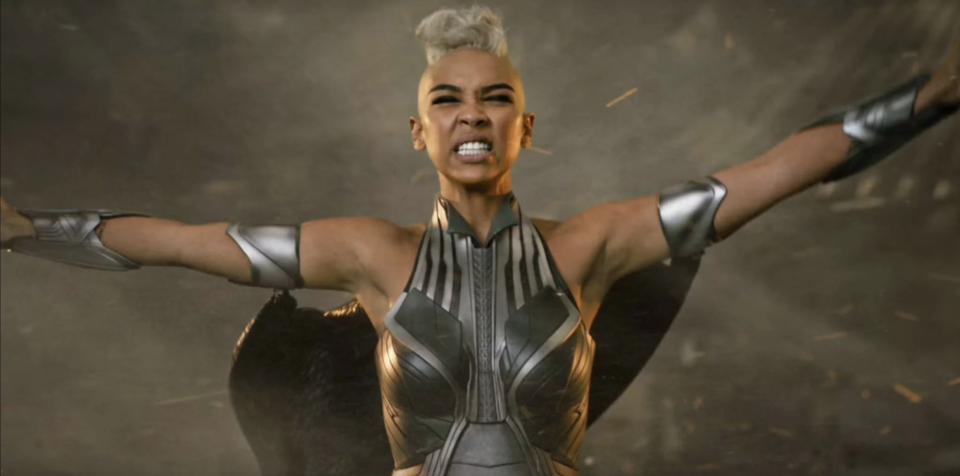 Storm looks like she just saw this '80s 'X-Men' script (credit: 20th Century Fox)