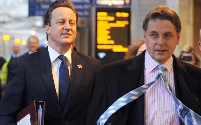 Former top civil servant Sir Jeremy Heywood has been blamed for presiding over a 'wild west' - Andrew Parsons/ I-Images