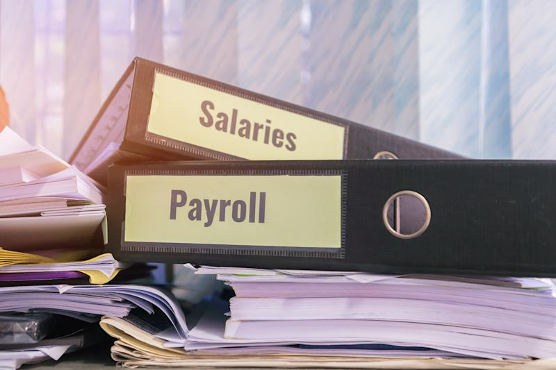 Payroll and salaries folders