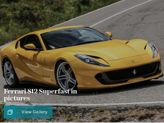 Ferrari 812 Superfast in pictures