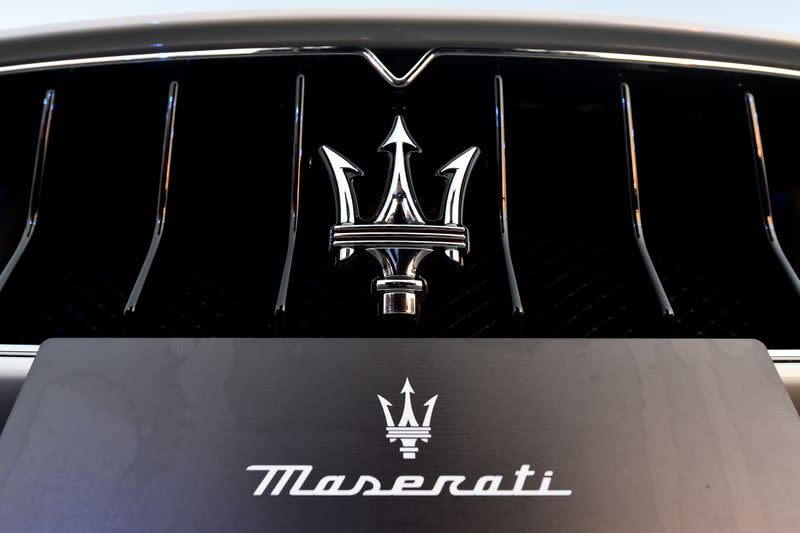 FILE PHOTO: Maserati unveils its new MC20 super sports car