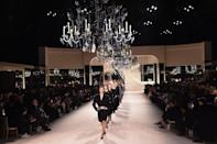 <p>Turning to the founder of the fashion house for inspiration, Creative Director Virginie Viard recreated Coco Chanel's iconic mirrored Parisian apartment inside the Grand Palais for the Metiers d'Art 19/20 show. </p>