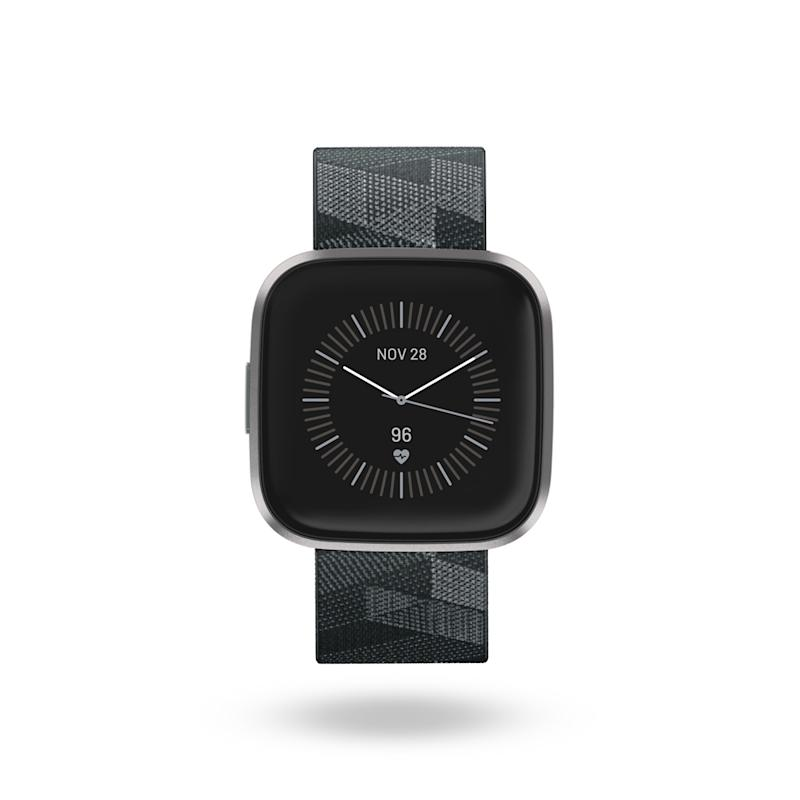 The Versa 2, like other Fitbit smartwatches, allows for customisable watch faces.