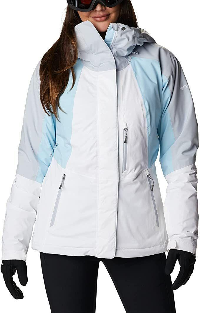 """<p><strong>Columbia</strong></p><p><strong>$280.00</strong></p><p><a href=""""https://www.amazon.com/dp/B08MPSL3HX?tag=syn-yahoo-20&ascsubtag=%5Bartid%7C10055.g.2273%5Bsrc%7Cyahoo-us"""" rel=""""nofollow noopener"""" target=""""_blank"""" data-ylk=""""slk:Shop Now"""" class=""""link rapid-noclick-resp"""">Shop Now</a></p><p><strong>Insulation:</strong> Polyester fill (85% recycled)<br><strong>Best for:</strong> Winter sports</p><p>This innovative jacket is designed to be ultra warm and waterproof, yet still breathable. Most notably, <strong>it has a thermal-reflective lining, meaning it transfers your body heat back to you.</strong> On top of that, it has a down alternative fill and sealed seams to keep you warm and dry in extreme weather. There's also built-in ventilation, an adjustable hood that fits over a helmet and pockets for your ski pass, goggles and other essentials.</p>"""