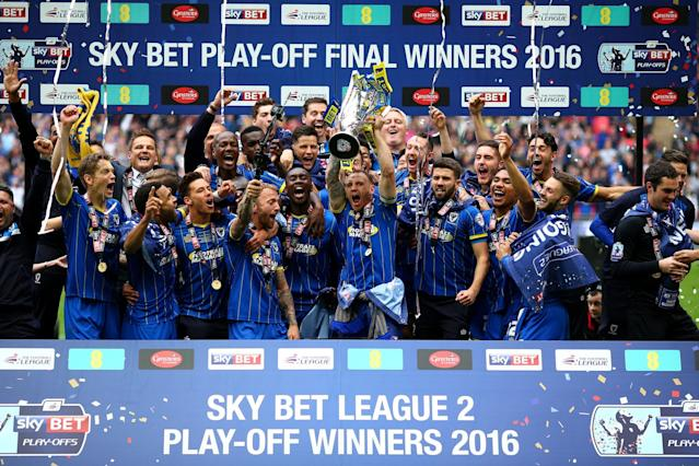 <p>AFC Wimbledon capped the 14th anniversary of their foundation by winning promotion to League One by beating Plymouth Argyle at Wembley. And guess who awaited them in that division? MK Dons. </p>