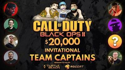 Turtle Beach, ROCCAT and Team Summertime join forces for charity Black Ops II invitational to help those struggling with depression