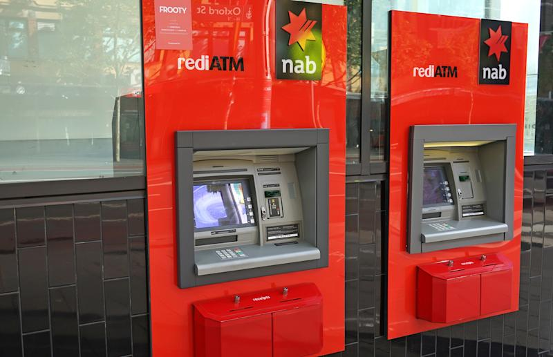 October 17, 2017: National Australia Bank ATM.