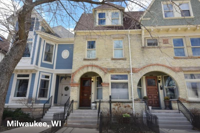 Home for sale in Milwaukee WI with a $1500 estimated mortgage payment