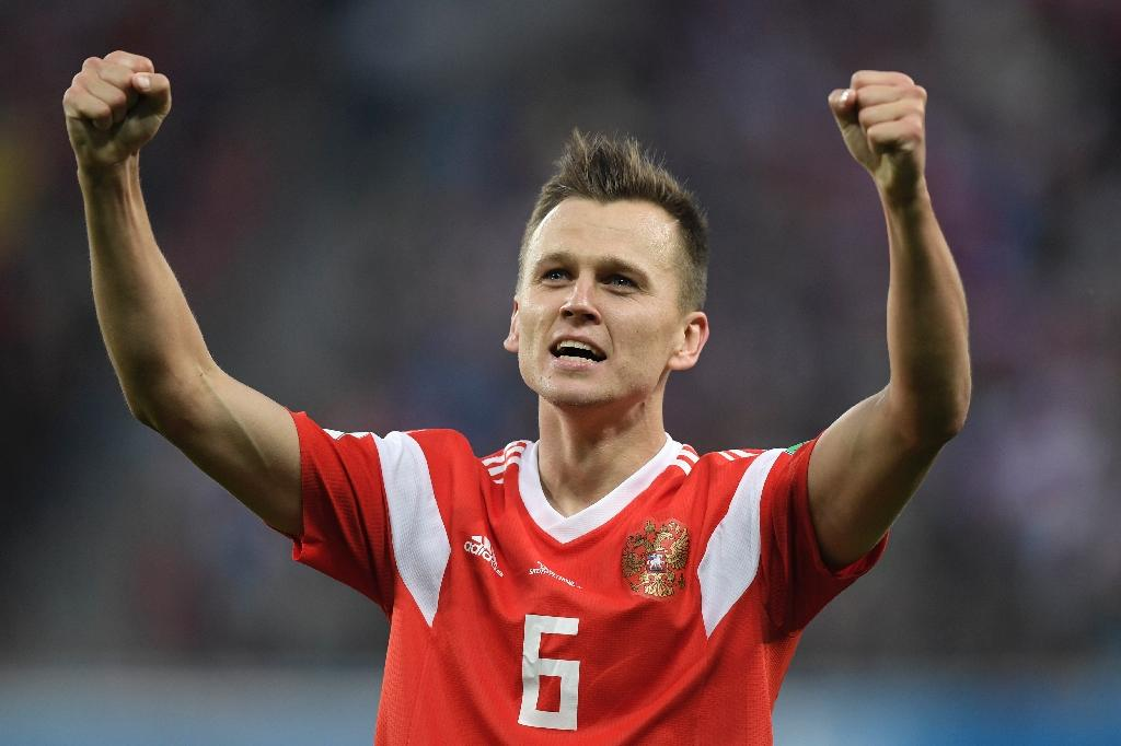 Russia's Denis Cheryshev has scored three goals at the World Cup (AFP Photo/GABRIEL BOUYS                     )