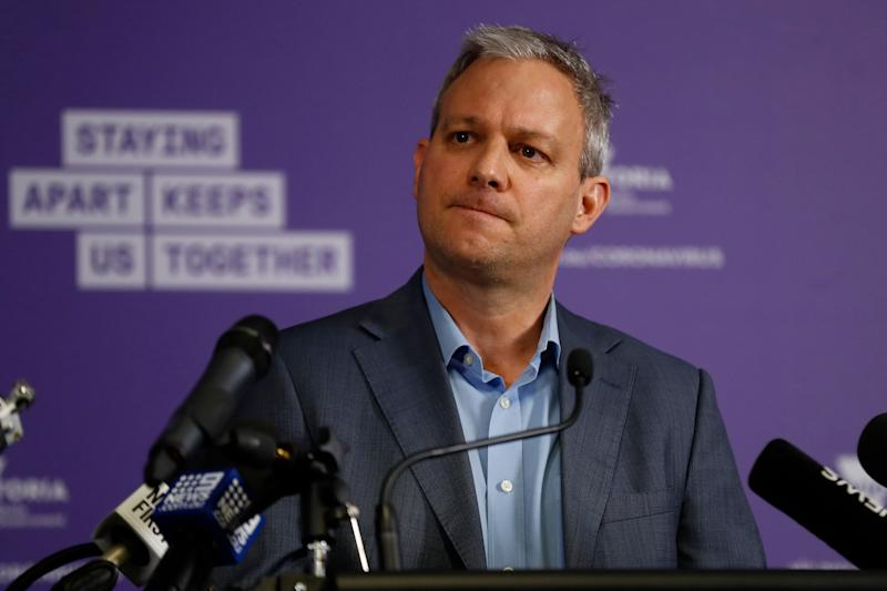 Brett Sutton the Chief Health Officer of Victoria (Photo: Darrian Traynor via Getty Images)