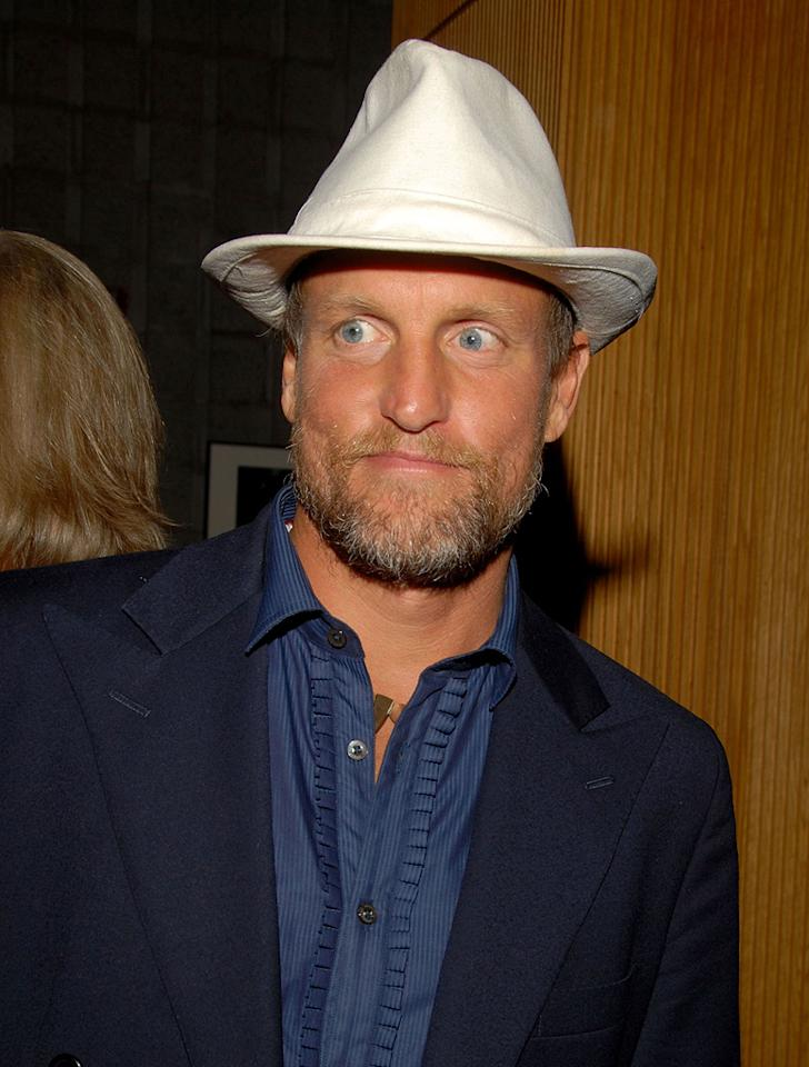 """<a href=""""http://movies.yahoo.com/movie/contributor/1800018911"""">Woody Harrelson</a> at the after party for the Los Angeles premiere of <a href=""""http://movies.yahoo.com/movie/1810041985/info"""">Milk</a> - 11/13/2008"""