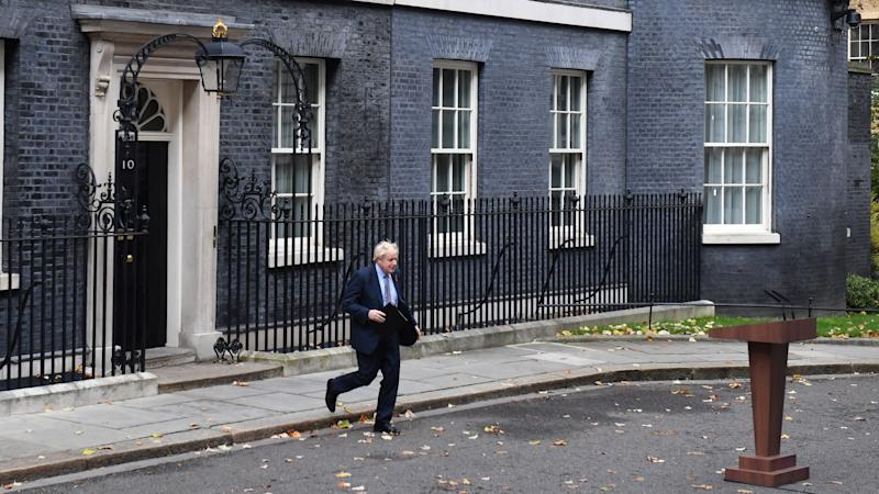 Boris Johnson fires starting gun on election campaign after Cabinet resignation