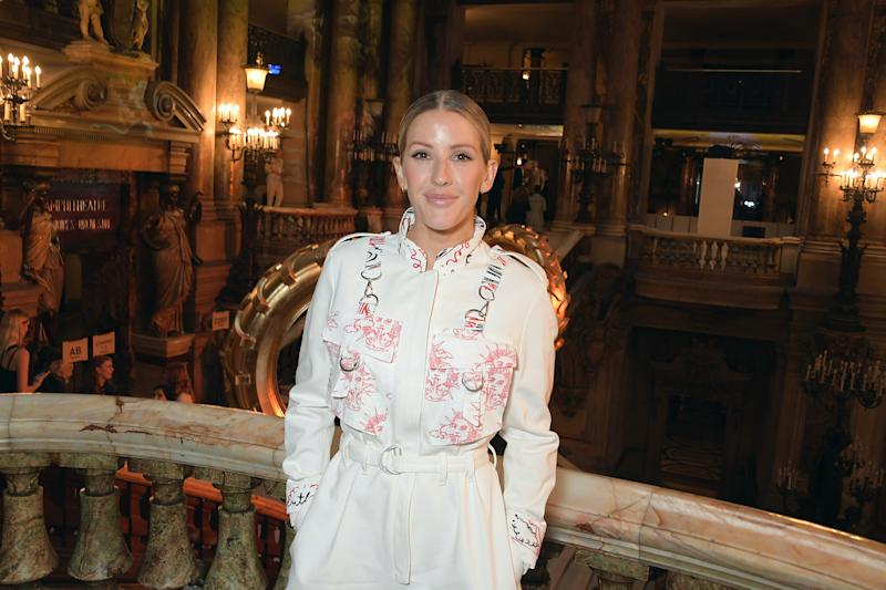 Ellie Goulding attends the Stella McCartney Womenswear Spring/Summer 2020 show as part of Paris Fashion Week on September 30, 2019 in Paris, France. (Photo by David M. Benett/Dave Benett/Getty Images)