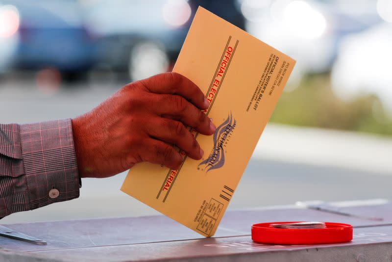 Explainer: Why vote by mail triggered a partisan battle ahead of November's election