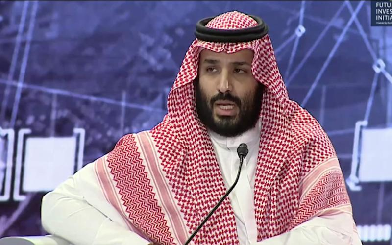 Saudi Crown Prince calls murder of Jamal Khashoggi 'painful' and 'heinous' as he vows justice will be served