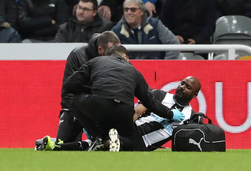 Newcastle's Willems, Dummett out for the season with injuries: Bruce