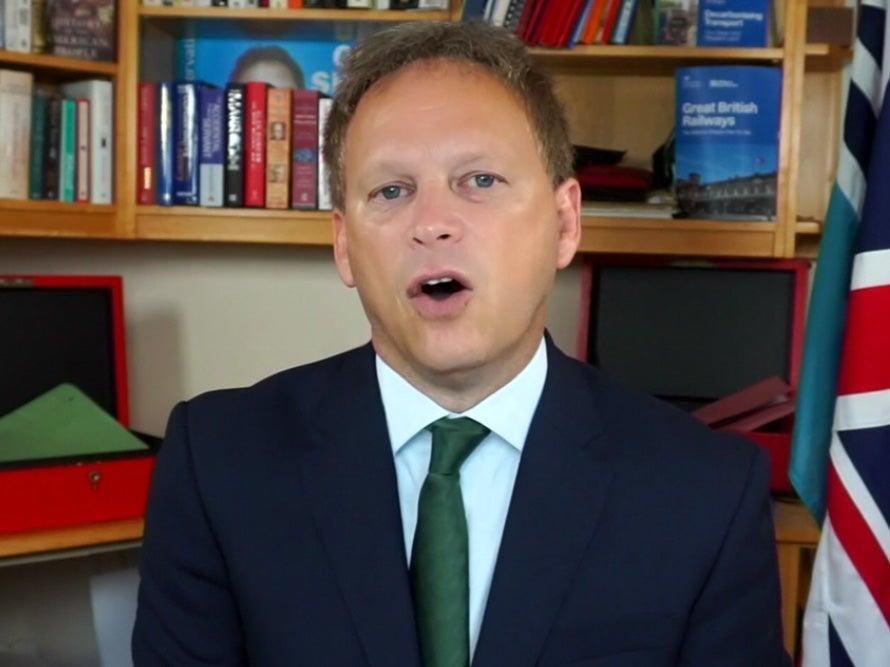 Shapps has defended the government's slow intervention (BBC)