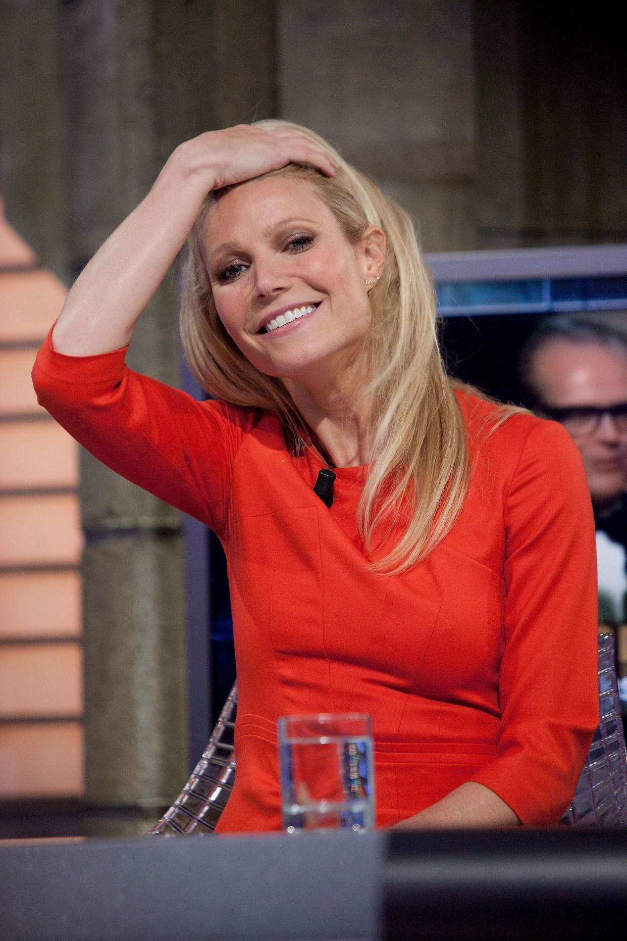 """<a href=""""http://www.redbookmag.com/fun-contests/celebrity/gwyneth-paltrow-tracy-anderson-interview#slide-1"""" rel=""""nofollow noopener"""" target=""""_blank"""" data-ylk=""""slk:Speaking about Tracy Anderson's fitness method"""" class=""""link rapid-noclick-resp"""">Speaking about Tracy Anderson's fitness method</a>, Paltrow told Redbook magazine: """"It did such wonders for my life, my confidence, my sex life, everything."""""""