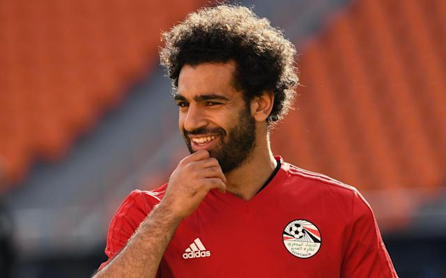 Mohamed Salah has recovered from the shoulder injury he picked up in the Champions League final - AFP