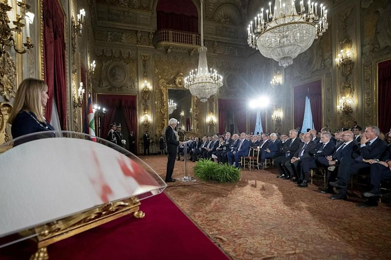 "Mattarella: ""Serve clima collaborativo"""