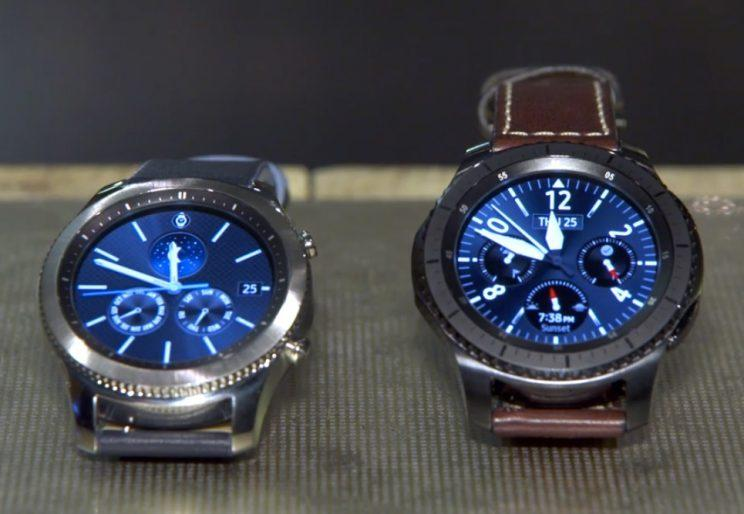 Samsung's Gear S3 smartwatch lets you ditch your phone in style