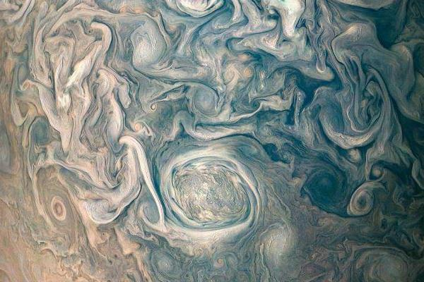 The Juno satellite spacecraft captured the stunning images of Jupiter on its 13th fly-by of the planet: NASA