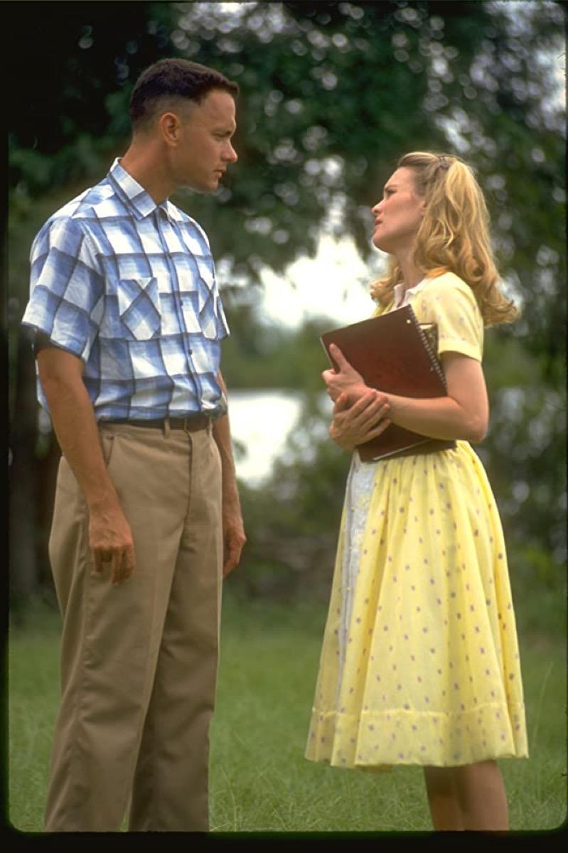 Tom Hanks and Robin Wright in Forrest Gump