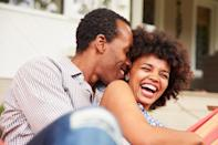 """There's something to be said for finding the love of your life at 18, but waiting may actually provide the key to greater happiness. Studies suggest that individuals who marry later than average tend to enjoy greater <a href=""""https://bestlifeonline.com/relationship-mistakes/?utm_source=yahoo-news&utm_medium=feed&utm_campaign=yahoo-feed"""" rel=""""nofollow noopener"""" target=""""_blank"""" data-ylk=""""slk:relationship satisfaction"""" class=""""link rapid-noclick-resp"""">relationship satisfaction</a> in the long run. For example, researchers at the <a href=""""https://www.ncbi.nlm.nih.gov/pubmed/28114770"""" rel=""""nofollow noopener"""" target=""""_blank"""" data-ylk=""""slk:University of Alberta"""" class=""""link rapid-noclick-resp"""">University of Alberta</a> in 2017 surveyed 405 Canadians at the end of high school and again at 43 year old. What they found was that that those who married later were able to acquire more education and higher-paying jobs, two indicators for greater long-term marital success. """"We didn't find that marrying late was negative in terms of future subjective well-being,"""" family ecology researcher <strong>Matt Johnson</strong> said in a <a href=""""https://phys.org/news/2018-03-happiness.html"""" rel=""""nofollow noopener"""" target=""""_blank"""" data-ylk=""""slk:statement"""" class=""""link rapid-noclick-resp"""">statement</a>. """"In fact, marrying late was better compared to marrying early."""""""