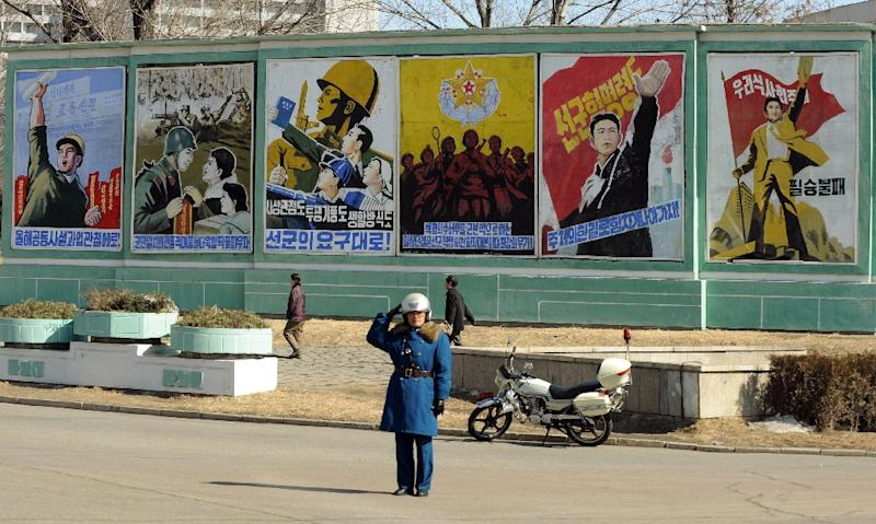 North Korea's official news agency says that a student from the University of Virginia has been detained (AFP Photo/Mark Ralston)