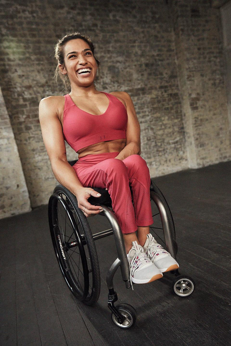 Madison is currently part of Under Armour's Together We Will campaign. Photo: Under Armour/ Ace Photography