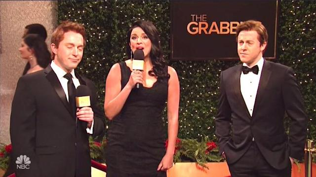 'SNL' Spoofs Oscars, Flames Hollywood Sex Harassment With 'Grabbies' Awards