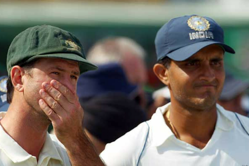 When Sourav Ganguly Trolled Ricky Ponting During a Toss