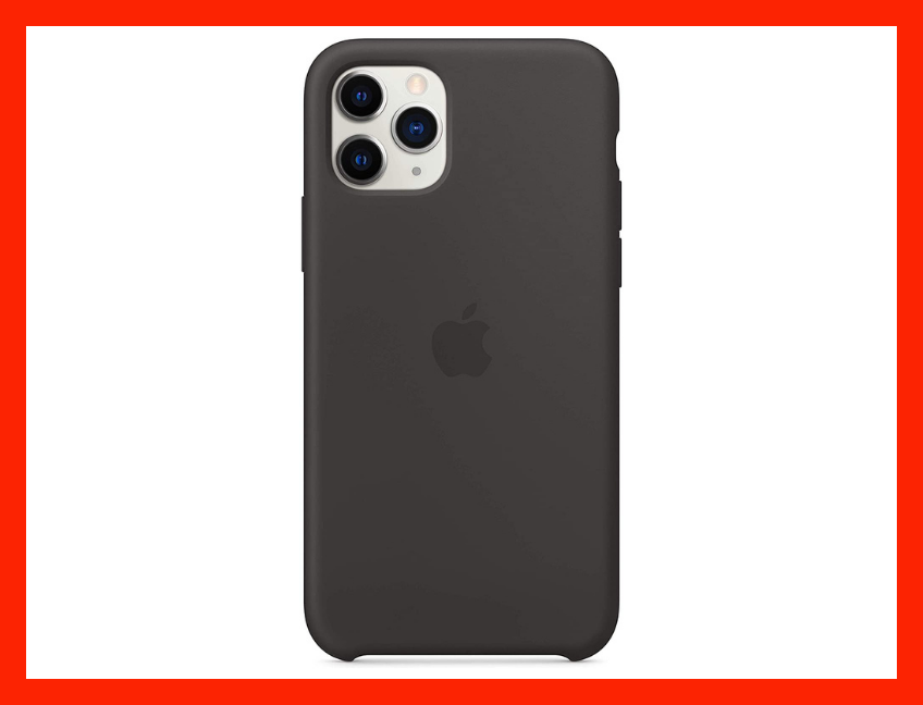 Save 62 percent on the Apple Silicone Case (for iPhone 11 Pro)—Black. (Photo: Amazon)