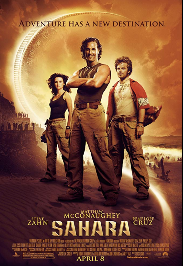 "<p>Although <em>Sahara</em> did well at the box office, earning over <a href=""https://www.boxofficemojo.com/release/rl2121238017/"" rel=""nofollow noopener"" target=""_blank"" data-ylk=""slk:$119 million in its opening weekend"" class=""link rapid-noclick-resp"">$119 million in its opening weekend</a>, the high cost of production made it impossible for it to make any money. The film has become known for its over <a href=""https://bombreport.com/yearly-breakdowns/2005-2/sahara/"" rel=""nofollow noopener"" target=""_blank"" data-ylk=""slk:$160 million budget"" class=""link rapid-noclick-resp"">$160 million budget</a> that kept it in the hole, despite relative success.</p>"