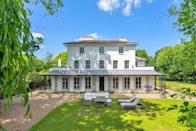"""<p>Spectacularly grand, this Georgian home backs onto Charles I's former hunting ground in Dulwich Common. With six bedrooms, a wraparound southerly sweeping garden and a separate annexe, it's exceptional in every way. </p><p><a href=""""https://www.knightfrank.co.uk/properties/residential/for-sale/college-road-dulwich-village-london-se21/dul150044"""" rel=""""nofollow noopener"""" target=""""_blank"""" data-ylk=""""slk:This property is currently on the market for £4,300,000 via Knight Frank"""" class=""""link rapid-noclick-resp"""">This property is currently on the market for £4,300,000 via Knight Frank</a>. </p>"""