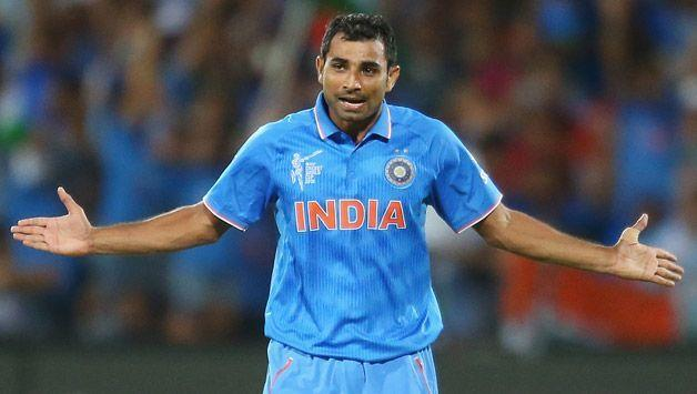 Mohammed Shami was India's go-to man in World Cup 2015