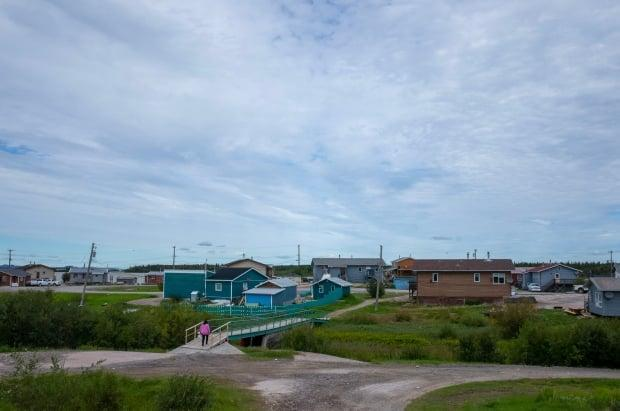 N.W.T. health officials have issued new tougher rules for people going in and out of Behchokǫ. (Walter Strong/CBC - image credit)