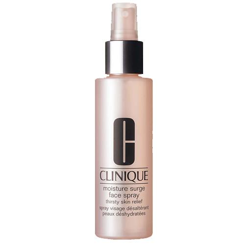 "<b>Moisture Surge Face Spray Thirsty Skin Relief by Clinique, £19.50</b><br><br>Part of its Moisture Surge range, we love this on-the-go spritz of cooling aloe and that refreshes and replenishes stressed-out skin without smudging make-up.<br><br><a target=""_blank"" href=""http://www.clinique.co.uk/product/1687/5449/Skin-Care/Moisturisers/Moisture-Surge-Face-Spray/All-Skin-Types/index.tmpl"">Available from Clinique.</a>"