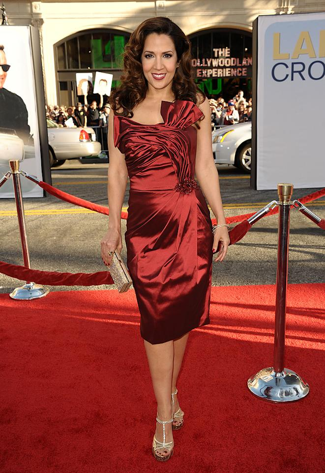 "<a href=""http://movies.yahoo.com/movie/contributor/1809150596"">Maria Canals</a> at the Los Angeles premiere of <a href=""http://movies.yahoo.com/movie/1810196533/info"">Larry Crowne</a> on June 27, 2011."