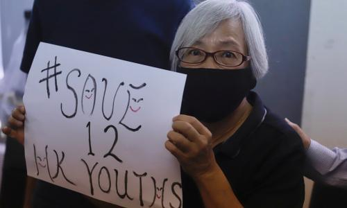 Save 12 HK youths: campaign to free boat detainees goes global