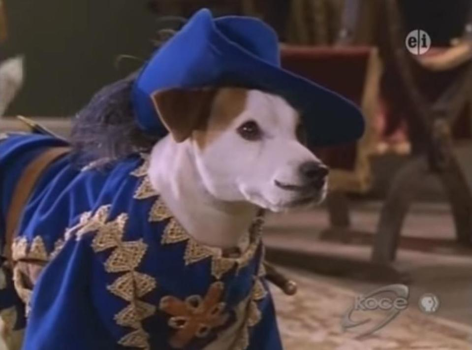 """<p>Name a more wholesome show, I'll wait. <em>Wishbone</em> was about an adorable dog who told literature's most classic stories and always played the lead. Look at his mustache!</p><p><a class=""""link rapid-noclick-resp"""" href=""""https://www.amazon.com/Wishbone-Larry-Brantley/dp/B004DNWF8U/ref=sr_1_1?keywords=wishbone+dvd&qid=1562095042&s=movies-tv&sr=1-1&tag=syn-yahoo-20&ascsubtag=%5Bartid%7C10063.g.34770662%5Bsrc%7Cyahoo-us"""" rel=""""nofollow noopener"""" target=""""_blank"""" data-ylk=""""slk:Buy the DVD"""">Buy the DVD</a></p>"""