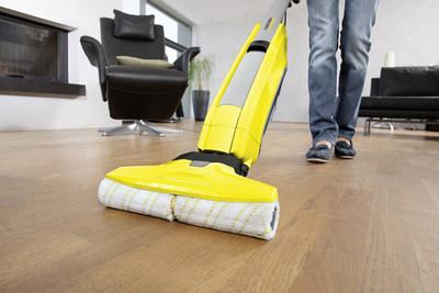 The award-winning FC5 vacuums and mops at the same time, leaving your floors spotless with minimal effort.