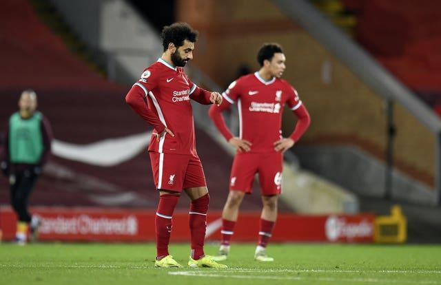 Liverpool have lost their last two home matches