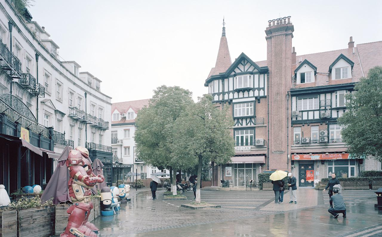 <p>Thames Town, China. (Photo: Gregor Sailer/Caters News) </p>