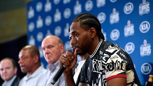 Kawhi Leonard Shows Off New Afro Hairstyle: Video