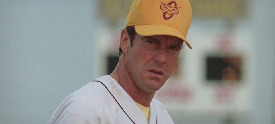 """The Rookie"" is based on the true story of former MLB pitcher Jimmy Morris. (Photo by Disney+)"