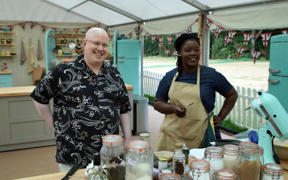 Despite winning Star Baker the past two weeks, Hermine was the latest to leave the tent - Channel 4